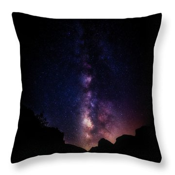 Throw Pillow featuring the photograph Heaven Come Down by Rick Furmanek