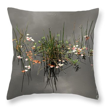 Heaven In The Swamp Throw Pillow