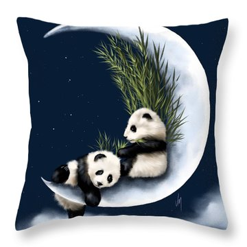 Heaven Of Rest Throw Pillow