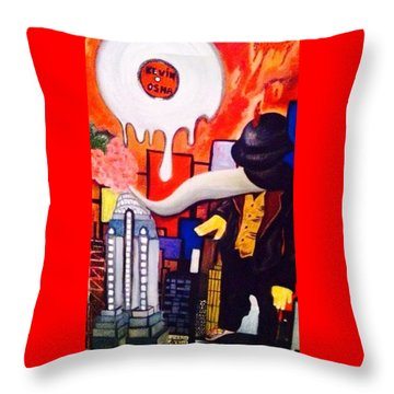 Heaven On Earth  Throw Pillow by Inga Kirilova