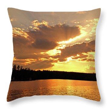 Heaven Shining Throw Pillow