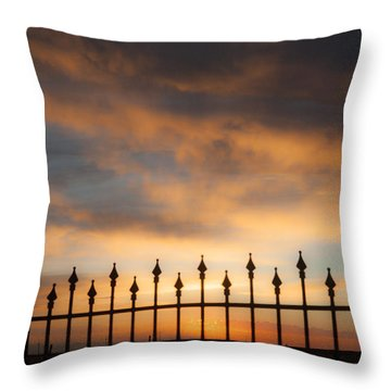Heaven Waits Throw Pillow
