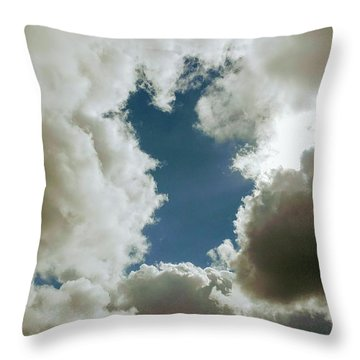 Majestic Clouds  Throw Pillow