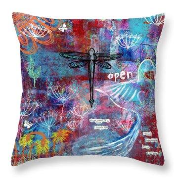 Heavenly Dew Throw Pillow