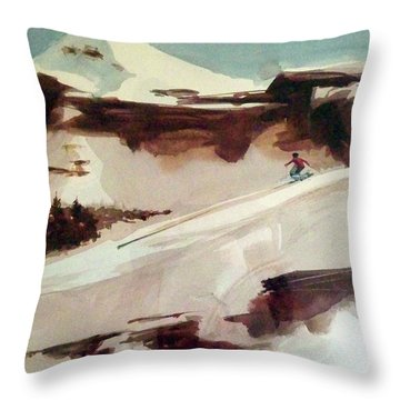 Heavenly Throw Pillow by Ed Heaton