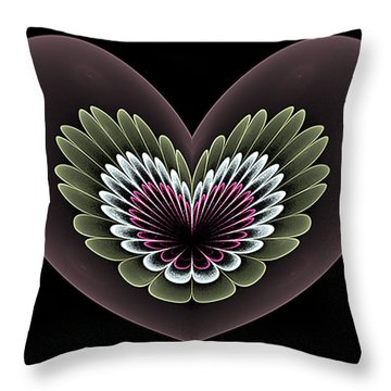 Heavenly Heart Throw Pillow