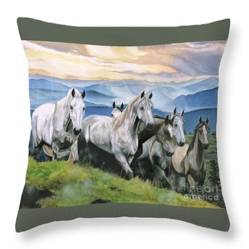 Heavenly Home Throw Pillow