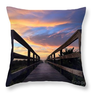 Throw Pillow featuring the photograph Heavenly  by LeeAnn Kendall
