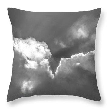 Heavenly Light Throw Pillow