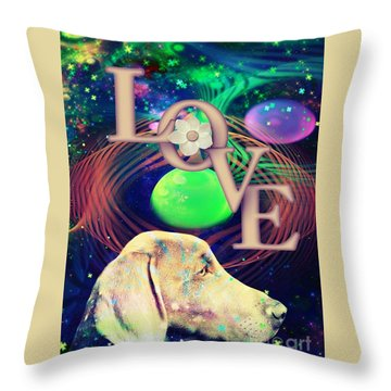 Heavenly Love Throw Pillow