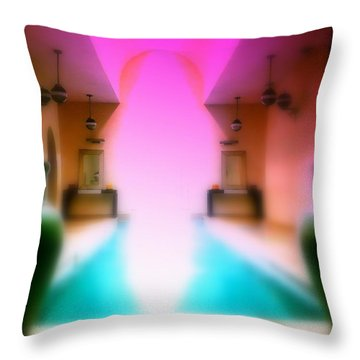 Heavenly Marrakech Spa Throw Pillow