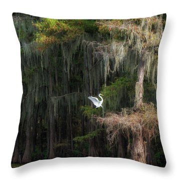 Heavenly Nest  Throw Pillow