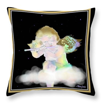 Heavenly Serenade Throw Pillow