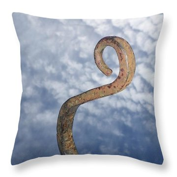 Heavenly Sky Hook Throw Pillow