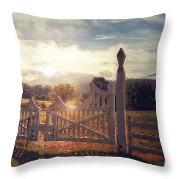 Heaven's Gate 2 Throw Pillow