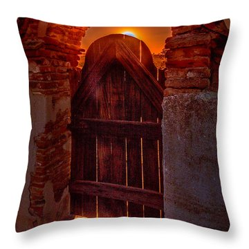 Heaven's Gate Throw Pillow