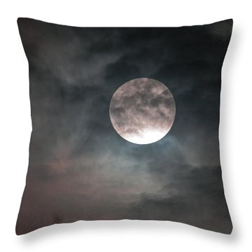 Throw Pillow featuring the photograph Heaven's Work by Sandy Molinaro