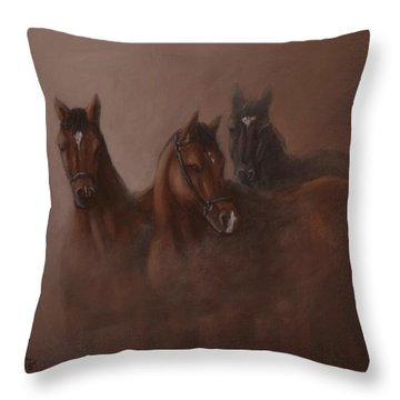 Heavy Mist Throw Pillow