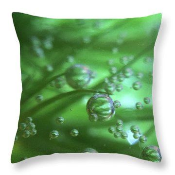 Heavy Traffic On The 10 Throw Pillow