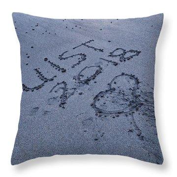 Hebridean Love Throw Pillow