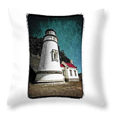 Hecitia Head Lighthouse Throw Pillow
