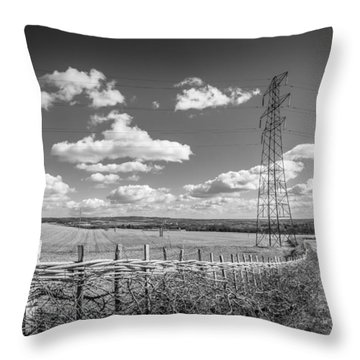 Hedge Laying. Throw Pillow