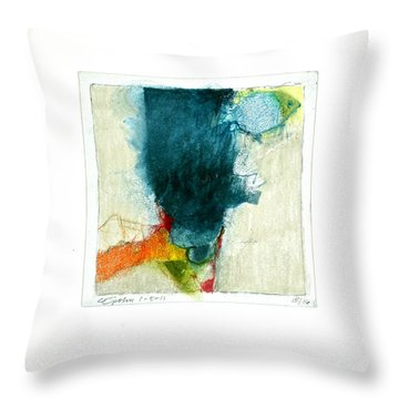 Hedgefishog  --start-- Throw Pillow