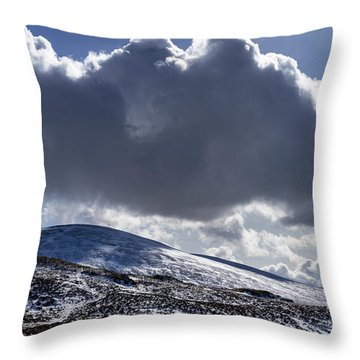 Hedgehope Clouds Throw Pillow