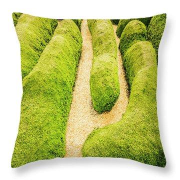 Hedging An Escape Throw Pillow