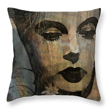 Hedy Lamarr - Only A Woman's Heart  Throw Pillow