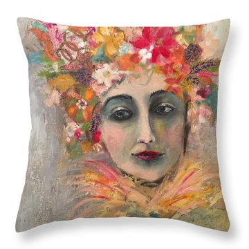 Hedy Lamore Throw Pillow