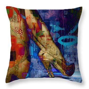 Heeling Affect Throw Pillow by Greg Sharpe