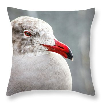 Heerman's Gull Throw Pillow