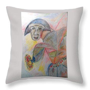 Hegemony Throw Pillow