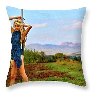 Heidi Estrella #1 Throw Pillow
