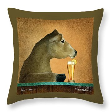 Heiferweizen Throw Pillow