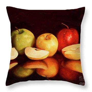 Hein Apples Throw Pillow