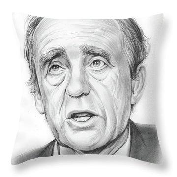 Heinrich Boll  Throw Pillow