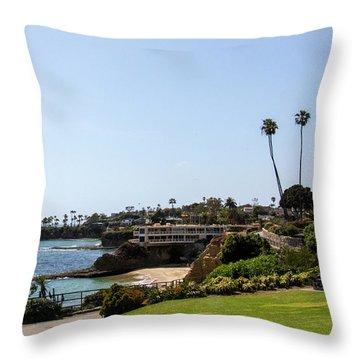 Heisler Park Throw Pillow
