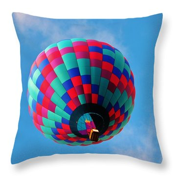 Helen Hot Air Balloon Throw Pillow