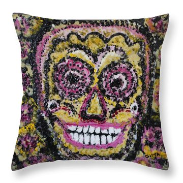 Happy To See You Throw Pillow