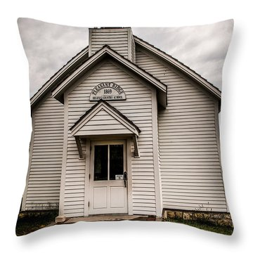 Helen's Country School Throw Pillow