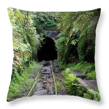 Helensburgh Old Station Throw Pillow