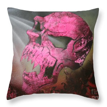 Hell Throw Pillow by Tbone Oliver