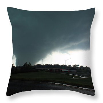 Hell Unleashed Throw Pillow by Rick Lipscomb