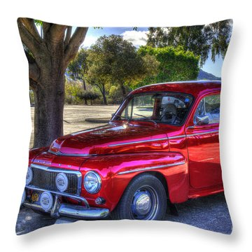 Hella Volvo Throw Pillow