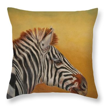 Hello Africa Throw Pillow