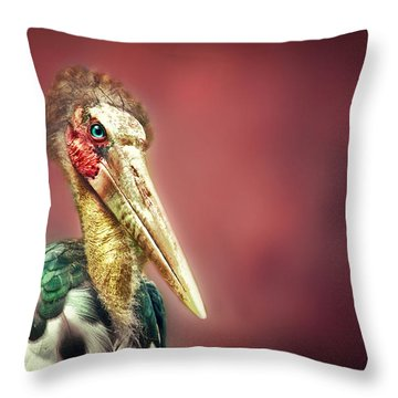 Hello Throw Pillow by Charuhas Images
