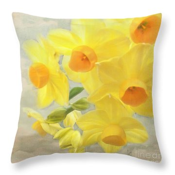 Hello February Throw Pillow