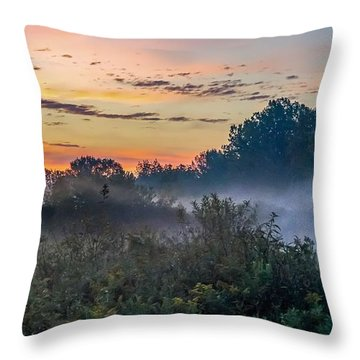 Throw Pillow featuring the photograph Hello Gorgeous by Kendall McKernon